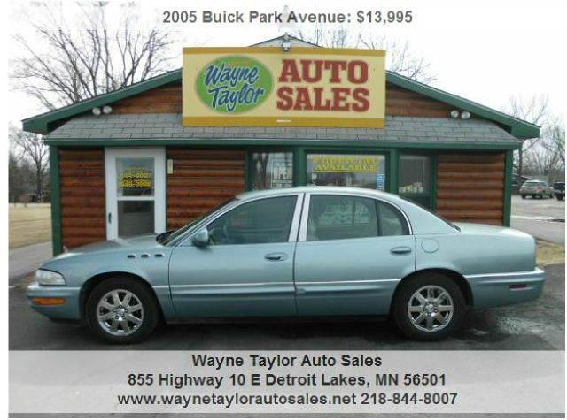 2005 Buick Park Avenue