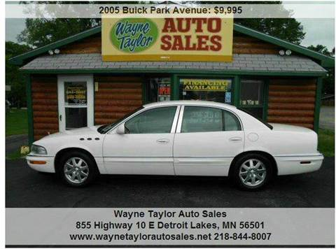 2005 Buick Park Avenue For Sale Dallas Tx Carsforsale Com