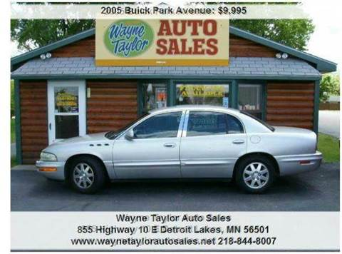 2005 Buick Park Avenue for sale in Detroit Lakes, MN