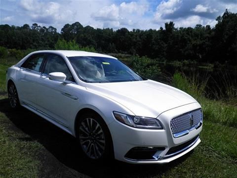2017 Lincoln Continental for sale in Saint Augustine, FL