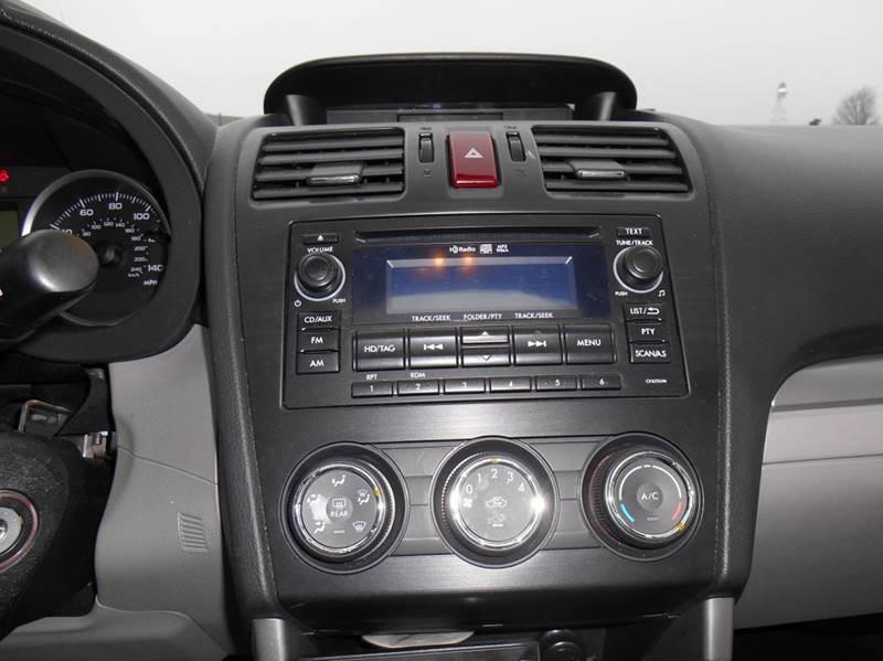 2015 Subaru Forester 2.5i Premium AWD 4dr Wagon CVT - Jenison MI