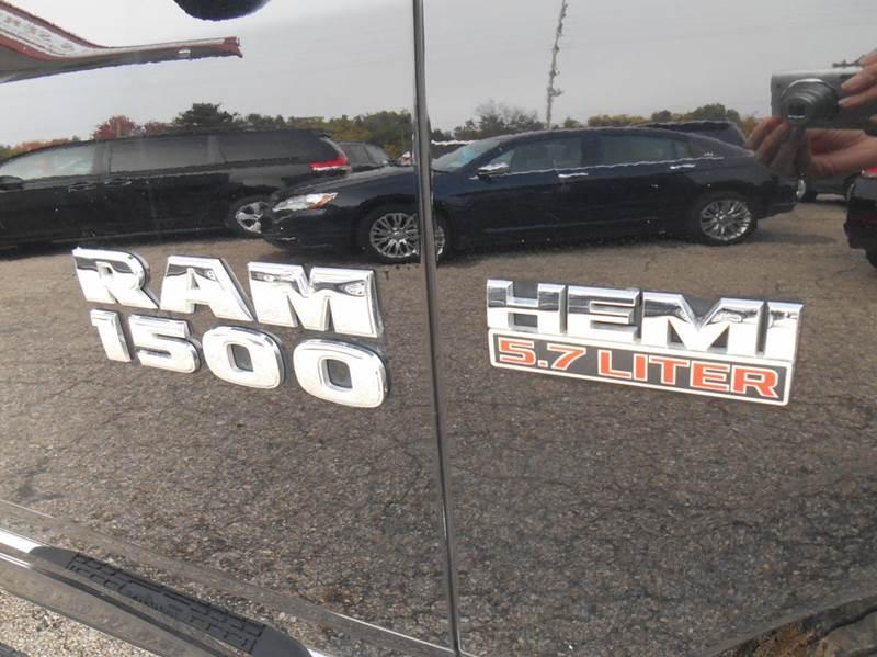 2014 RAM Ram Pickup 1500 4x4 Big Horn 4dr Crew Cab 6.3 ft. SB Pickup - Jenison MI