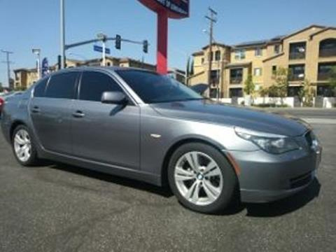 2010 BMW 5 Series for sale in Long Beach, CA
