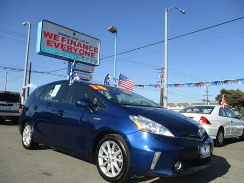 2014 Toyota Prius v for sale in Long Beach, CA