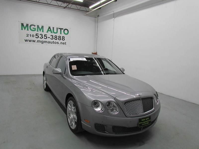 2012 Bentley Continental Flying Spur Base Awd 4dr Sedan In San