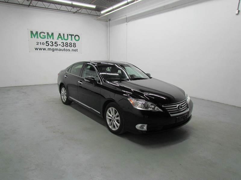 2012 Lexus ES 350 4dr Sedan   San Antonio TX