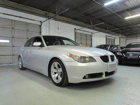 2006 bmw 5 series for sale in texas. Black Bedroom Furniture Sets. Home Design Ideas