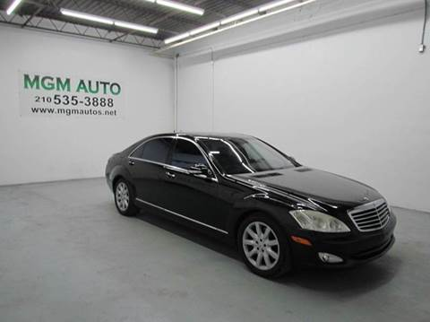 2007 Mercedes-Benz S-Class for sale in San Antonio, TX