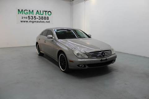 2006 Mercedes-Benz CLS for sale in San Antonio, TX