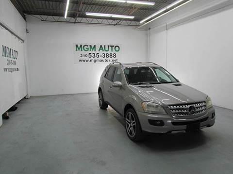 2006 Mercedes-Benz M-Class for sale in San Antonio, TX