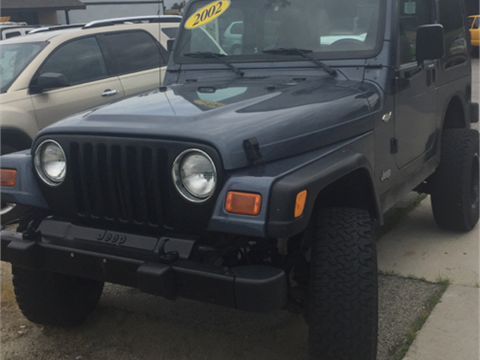 2002 Jeep Wrangler for sale in Kendallville, IN
