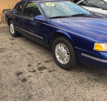 1997 Mercury Cougar for sale in Kendallville, IN