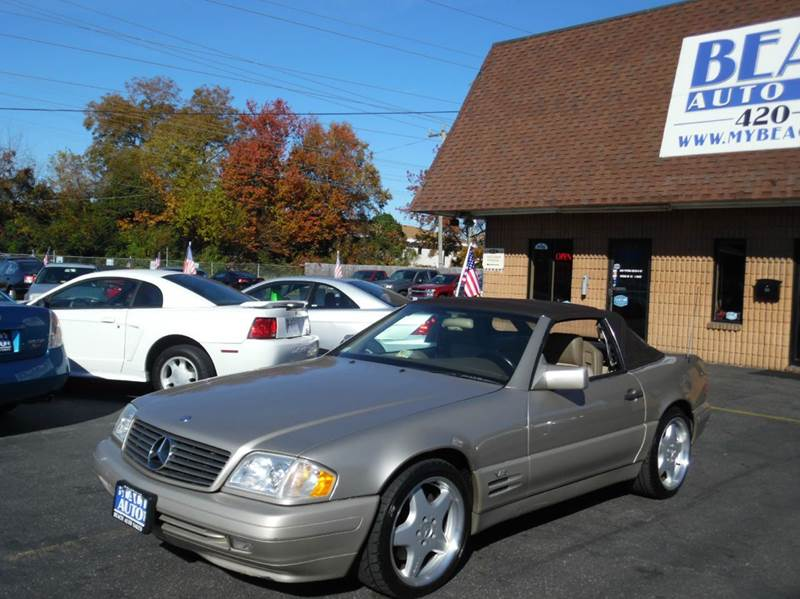 1996 mercedes benz sl class sl600 2dr convertible in for Mercedes benz lynchburg va