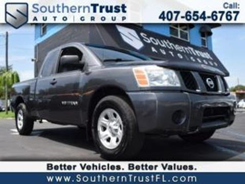 2007 Nissan Titan for sale in Winter Garden, FL