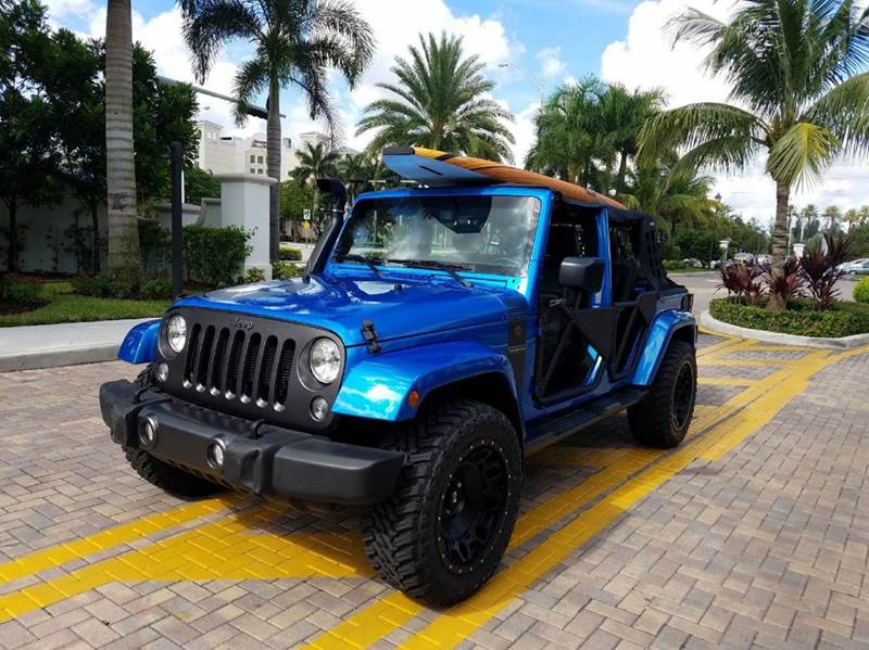 2016 Jeep Wrangler Unlimited 4x4 Willys Wheeler 4dr SUV In ...
