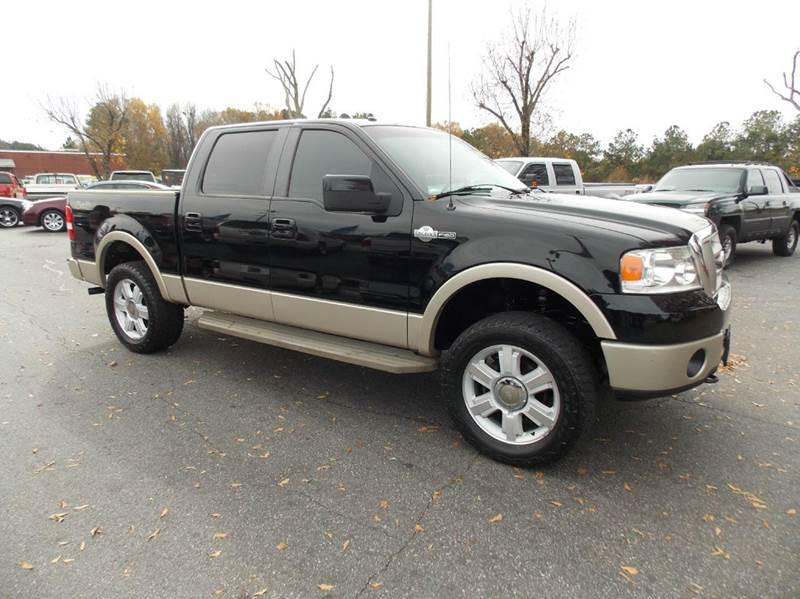 2008 ford f 150 king ranch 4x4 4dr supercrew styleside 5 5 ft sb in anderson sc executive. Black Bedroom Furniture Sets. Home Design Ideas