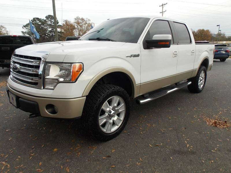 2009 ford f 150 lariat 4x4 4dr supercrew styleside 5 5 ft sb in anderson sc executive auto. Black Bedroom Furniture Sets. Home Design Ideas