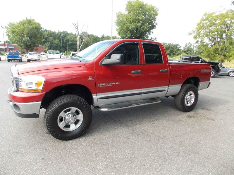 2006 dodge ram pickup 2500 slt 4dr quad cab 4wd sb in anderson sc executive auto brokers. Black Bedroom Furniture Sets. Home Design Ideas