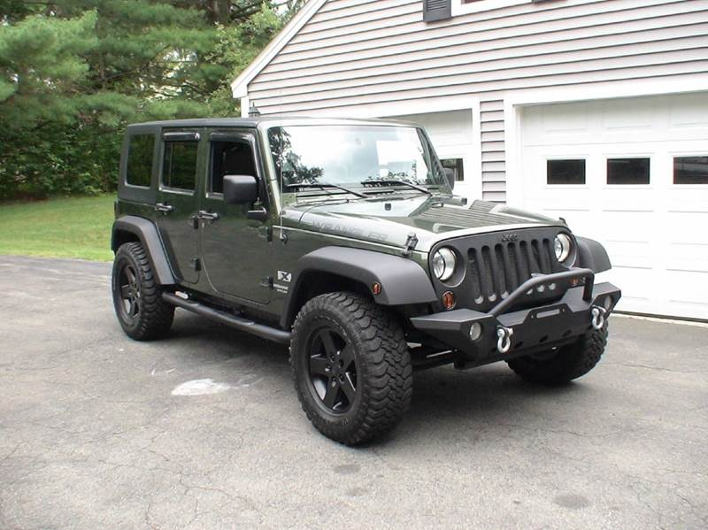 2007 jeep wrangler unlimited 4x4 x 4dr suv in anderson sc executive auto brokers. Black Bedroom Furniture Sets. Home Design Ideas