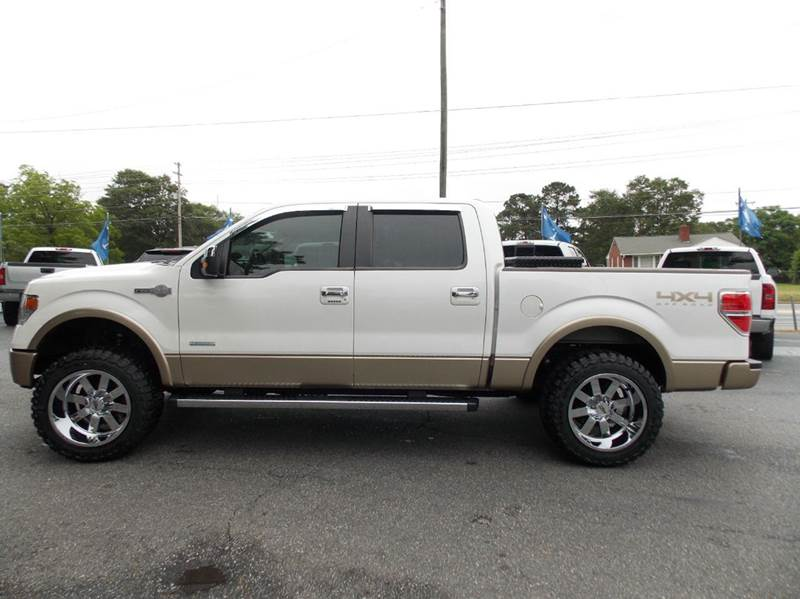 2013 ford f 150 4x4 king ranch 4dr supercrew styleside 5 5 ft sb in anderson sc executive. Black Bedroom Furniture Sets. Home Design Ideas