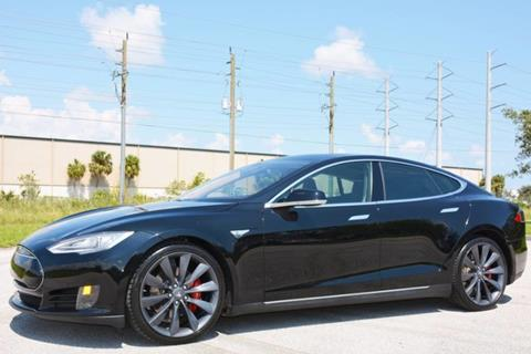 2012 Tesla Model S for sale in West Palm Beach, FL
