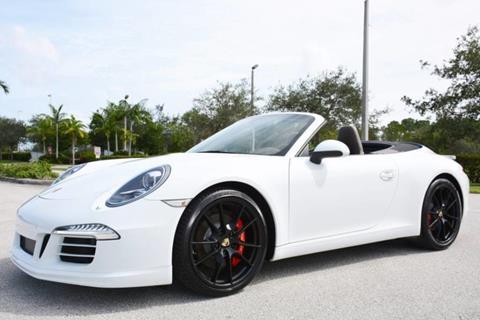 2013 Porsche 911 for sale in West Palm Beach, FL