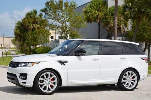 2016 Land Rover Range Rover Sport for sale in West Palm Beach, FL