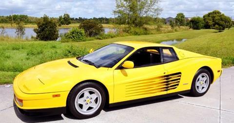 1990 Ferrari Testarossa for sale in West Palm Beach, FL