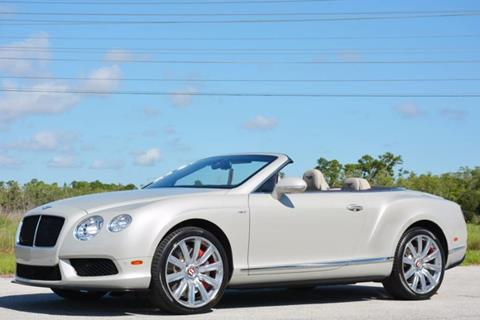 2014 Bentley Continental GTC V8 S for sale in West Palm Beach, FL
