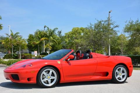 2003 Ferrari 360 Spider for sale in West Palm Beach, FL