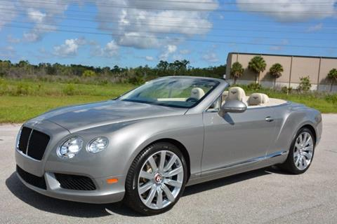 2013 Bentley Continental GTC V8 for sale in West Palm Beach, FL