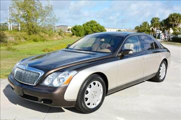 2004 Maybach 57 for sale in West Palm Beach, FL