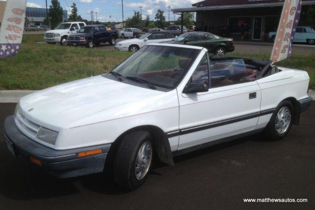 1991 Dodge Shadow