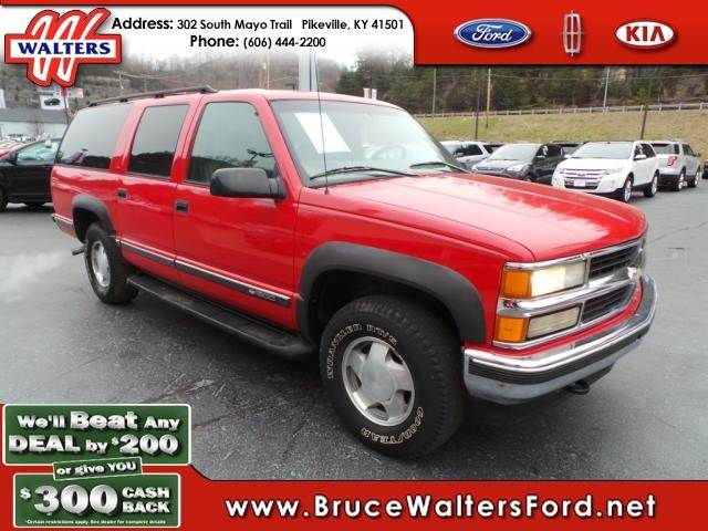 1997 chevrolet suburban for sale in pikeville ky. Black Bedroom Furniture Sets. Home Design Ideas