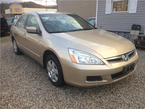 2007 Honda Accord for sale in Milton, WV