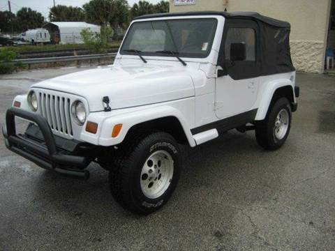1997 jeep wrangler for sale in west palm beach fl. Cars Review. Best American Auto & Cars Review