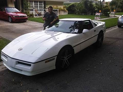 1985 chevrolet corvette for sale in west palm beach fl. Cars Review. Best American Auto & Cars Review