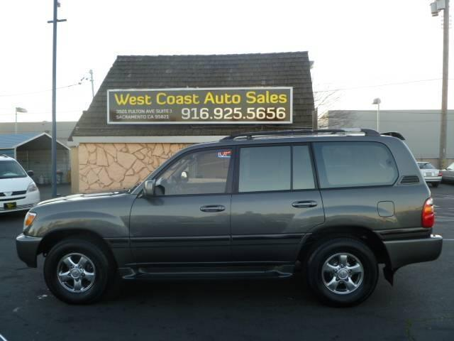 2001 Toyota Land Cruiser for sale in Sacramento CA