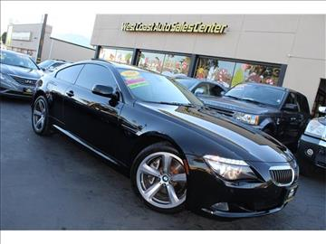 2008 BMW 6 Series For Sale - Carsforsale.com