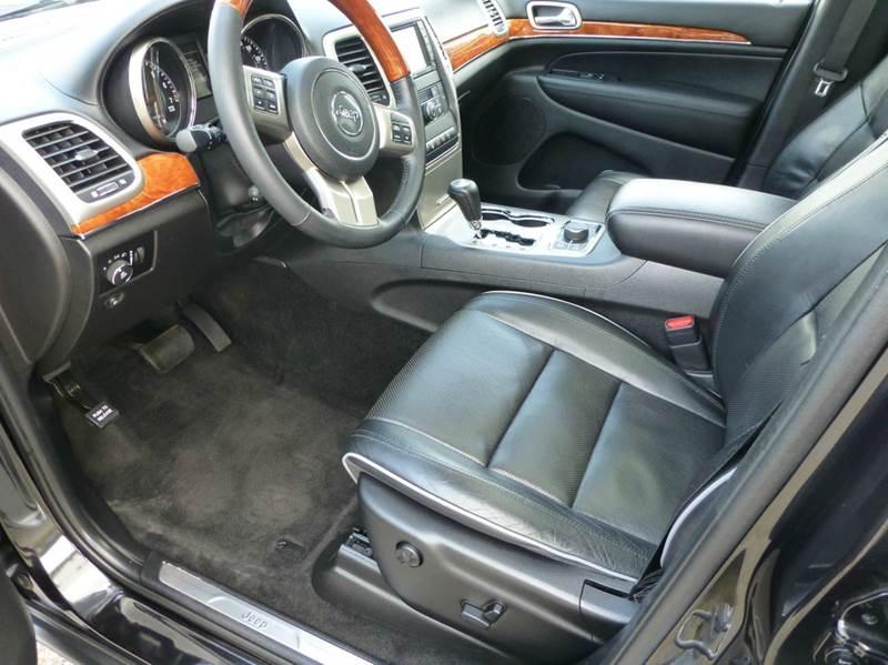 2012 Jeep Grand Cherokee 4x4 Overland 4dr SUV - Holland MI