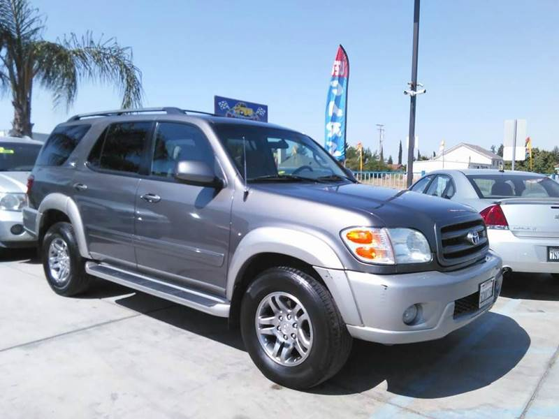 2003 toyota sequoia sr5 4wd 4dr suv in madera ca bonanza. Black Bedroom Furniture Sets. Home Design Ideas