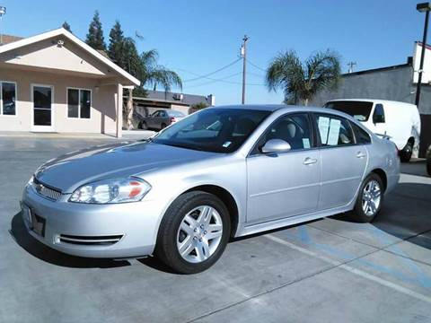 2012 Chevrolet Impala for sale in Madera, CA