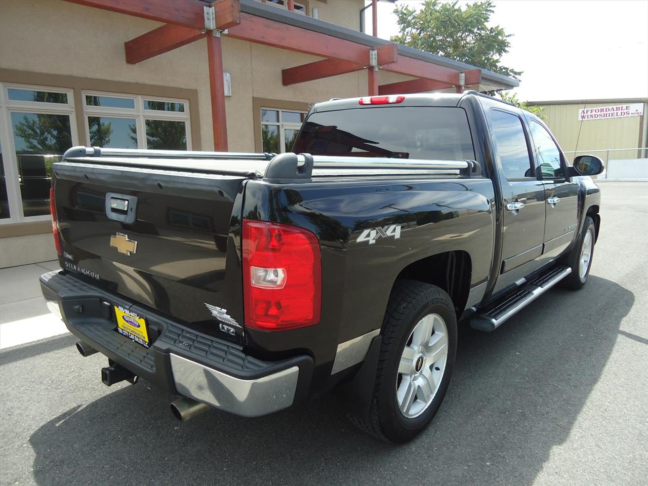 2008 chevrolet silverado 1500 ltz 4wd 4dr crew cab 5 8 ft for Tri city motor sales