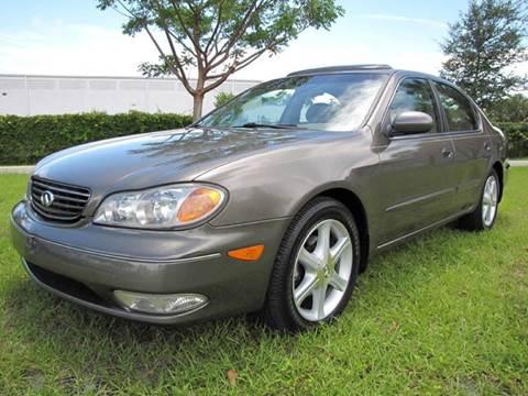 2003 Infiniti I35 for sale in Oakland Park, FL