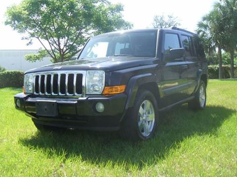 2008 Jeep Commander for sale in Oakland Park, FL