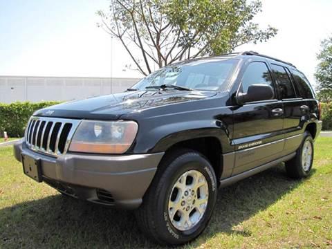 2001 jeep grand cherokee for sale florida. Black Bedroom Furniture Sets. Home Design Ideas