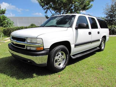 2002 Chevrolet Suburban for sale in Oakland Park, FL