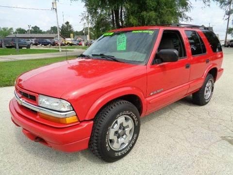 2004 chevrolet blazer for sale for North point motors traverse city