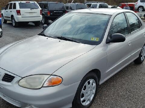 1999 Hyundai Elantra for sale in Ona, WV