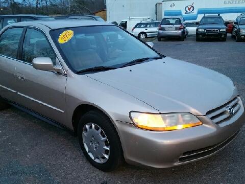 2002 Honda Accord for sale in Ona, WV